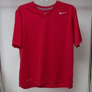 Nike Dri-Fit V-Neck T-Shirt Size M